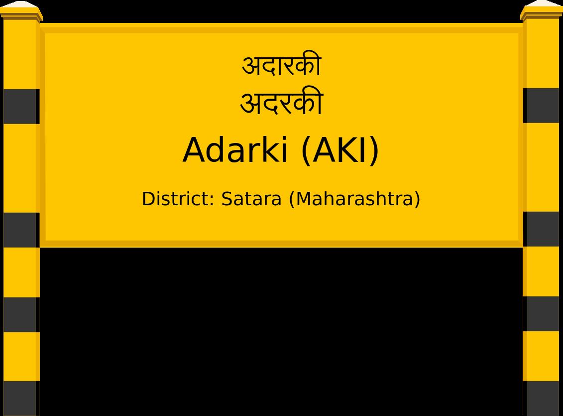 Adarki (AKI) Railway Station