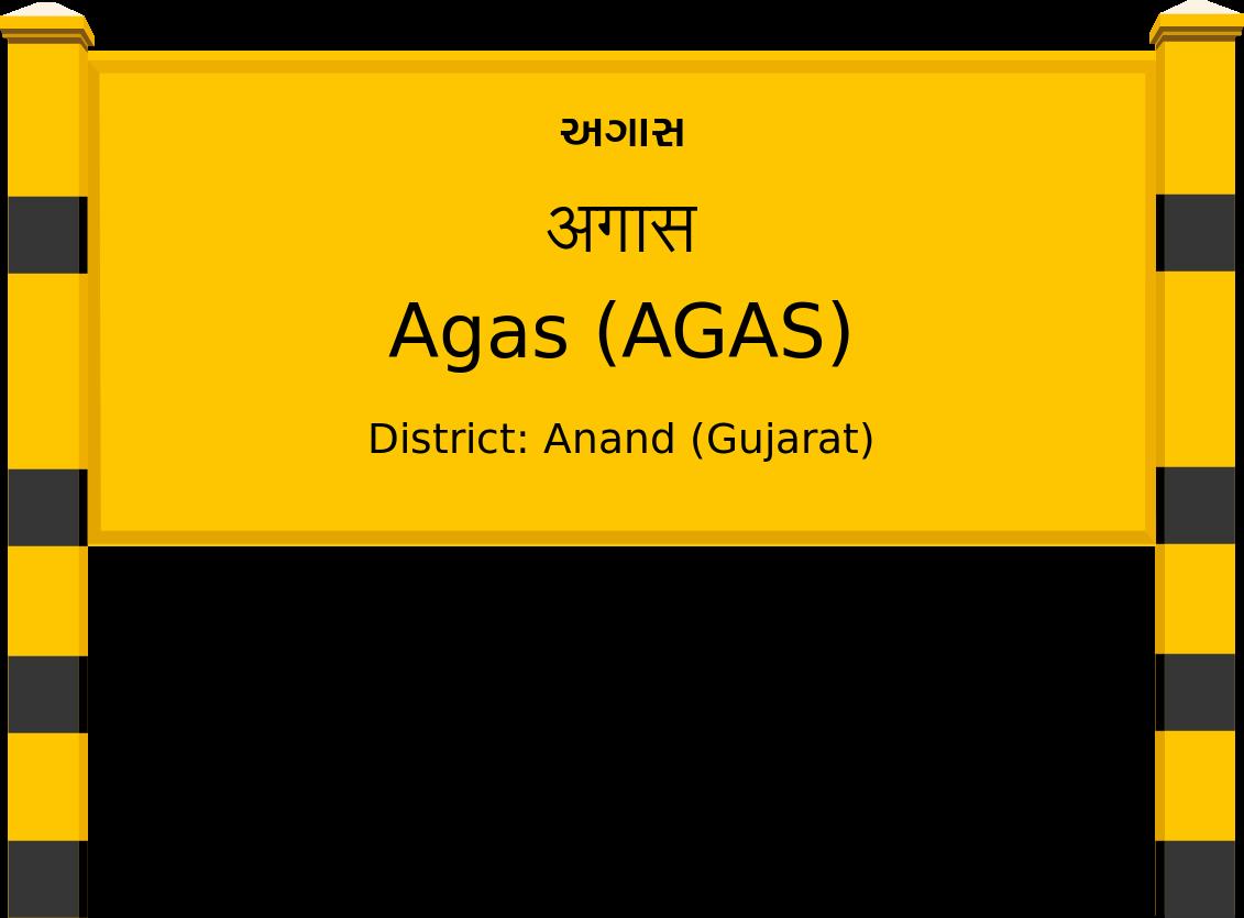 Agas (AGAS) Railway Station