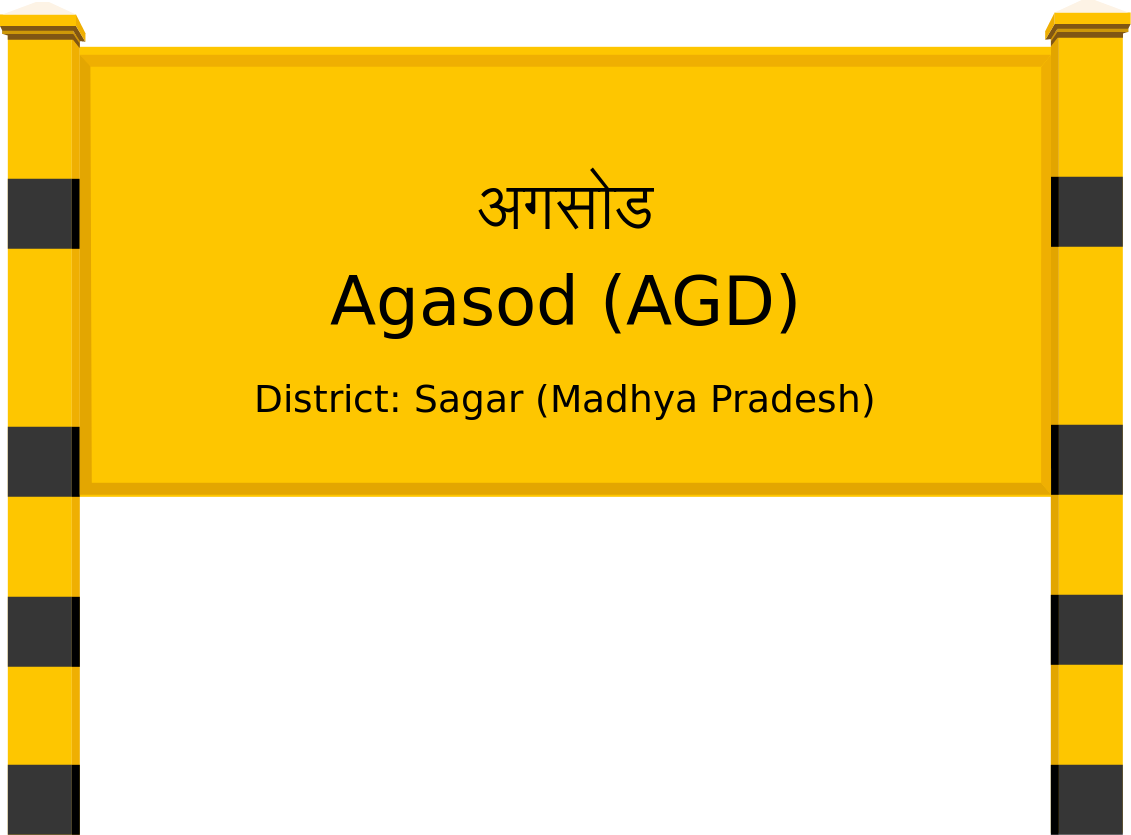 Agasod (AGD) Railway Station