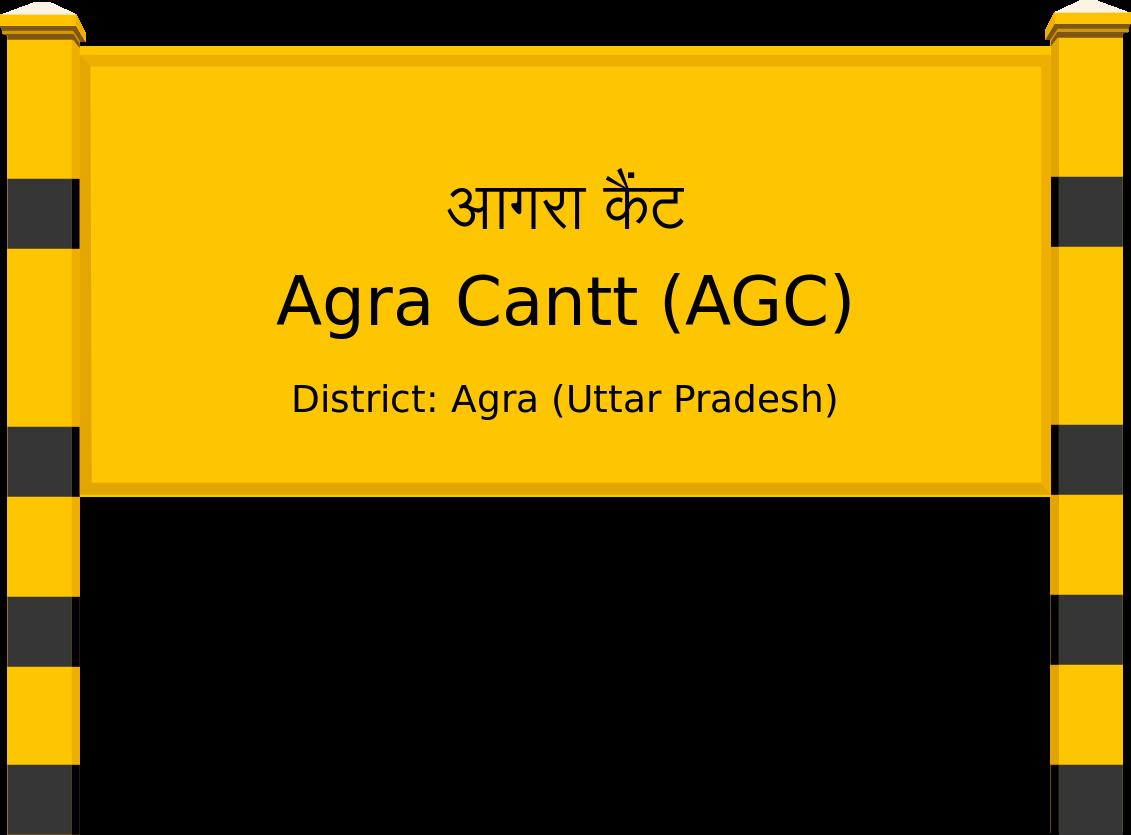 Agra Cantt (AGC) Railway Station
