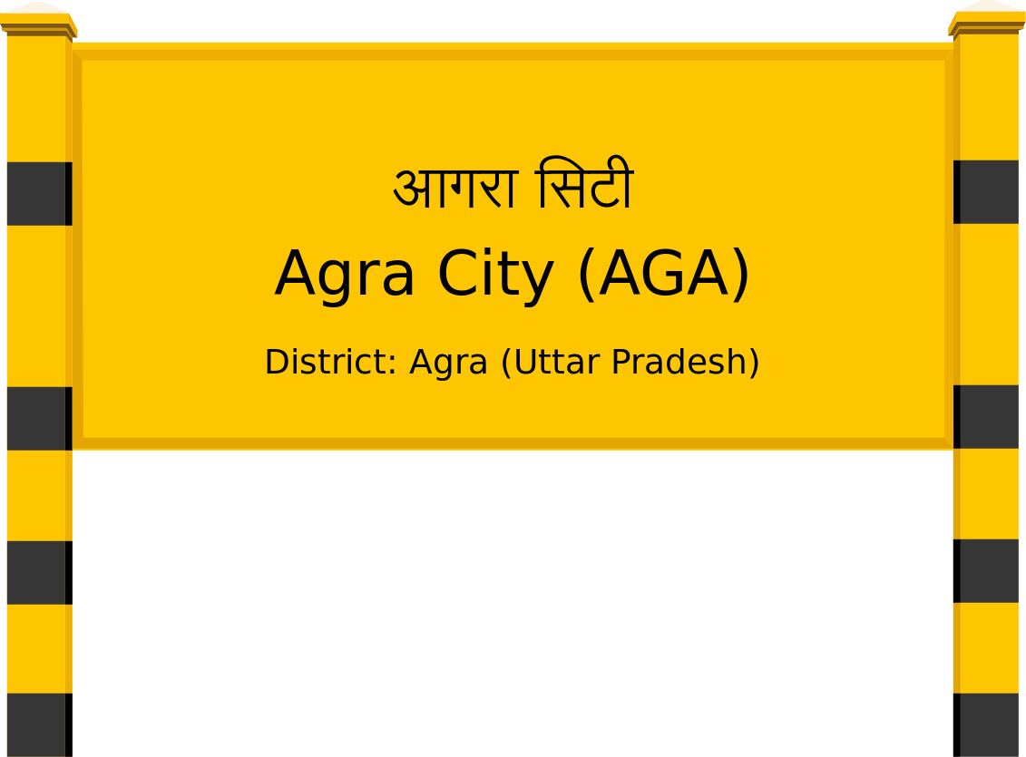 Agra City (AGA) Railway Station