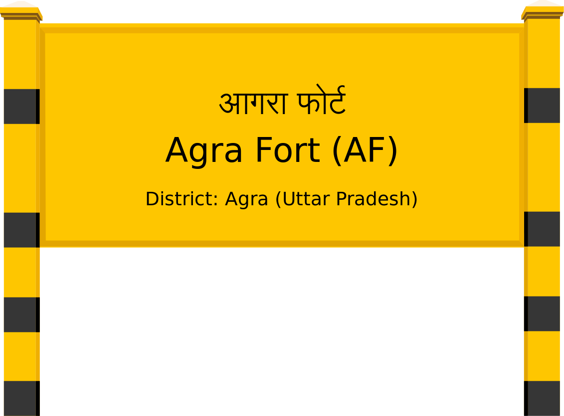Agra Fort (AF) Railway Station