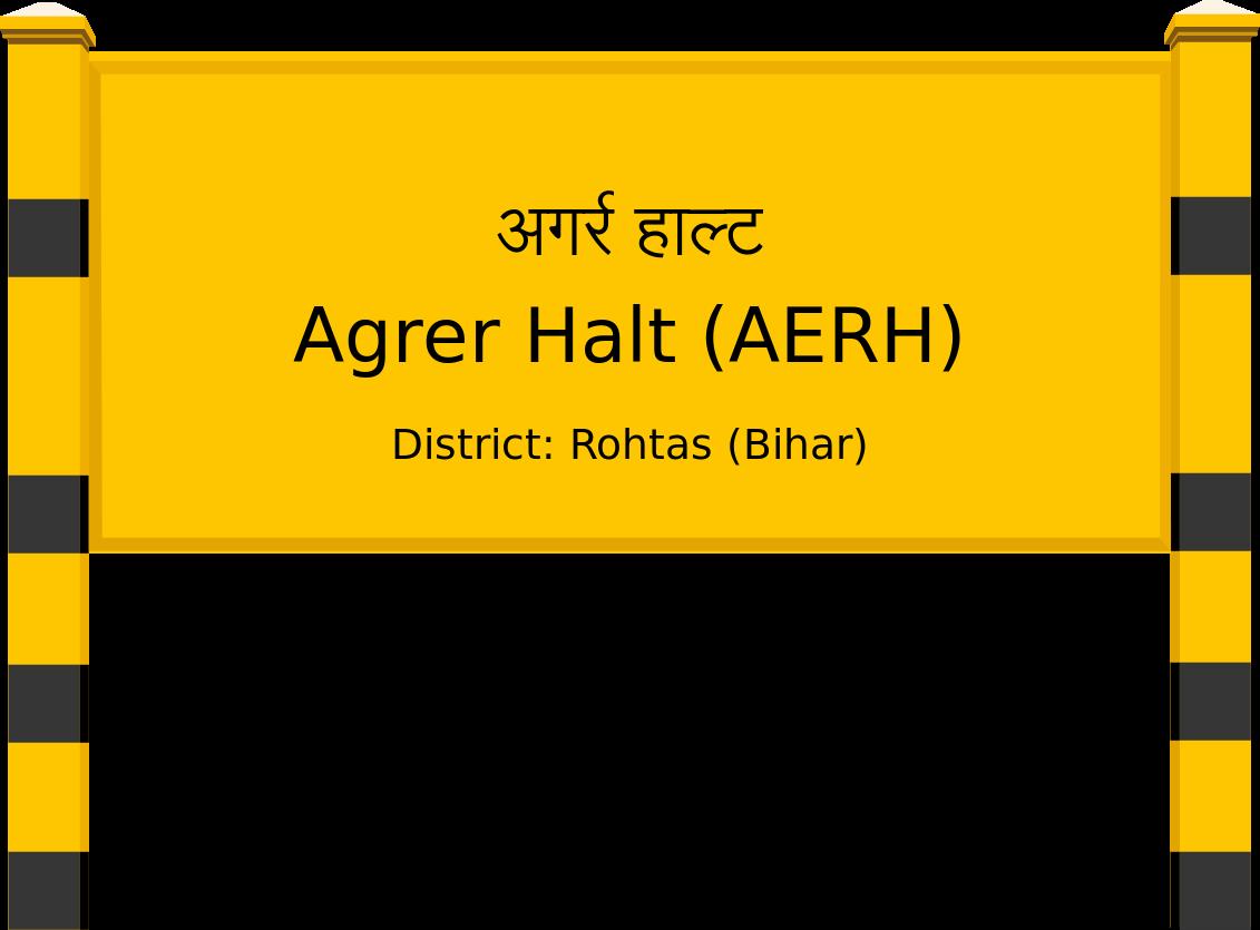Agrer Halt (AERH) Railway Station