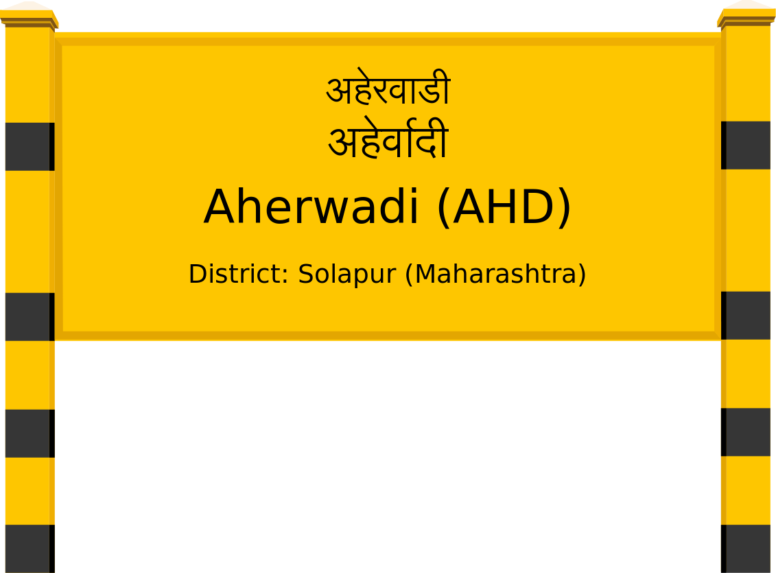 Aherwadi (AHD) Railway Station