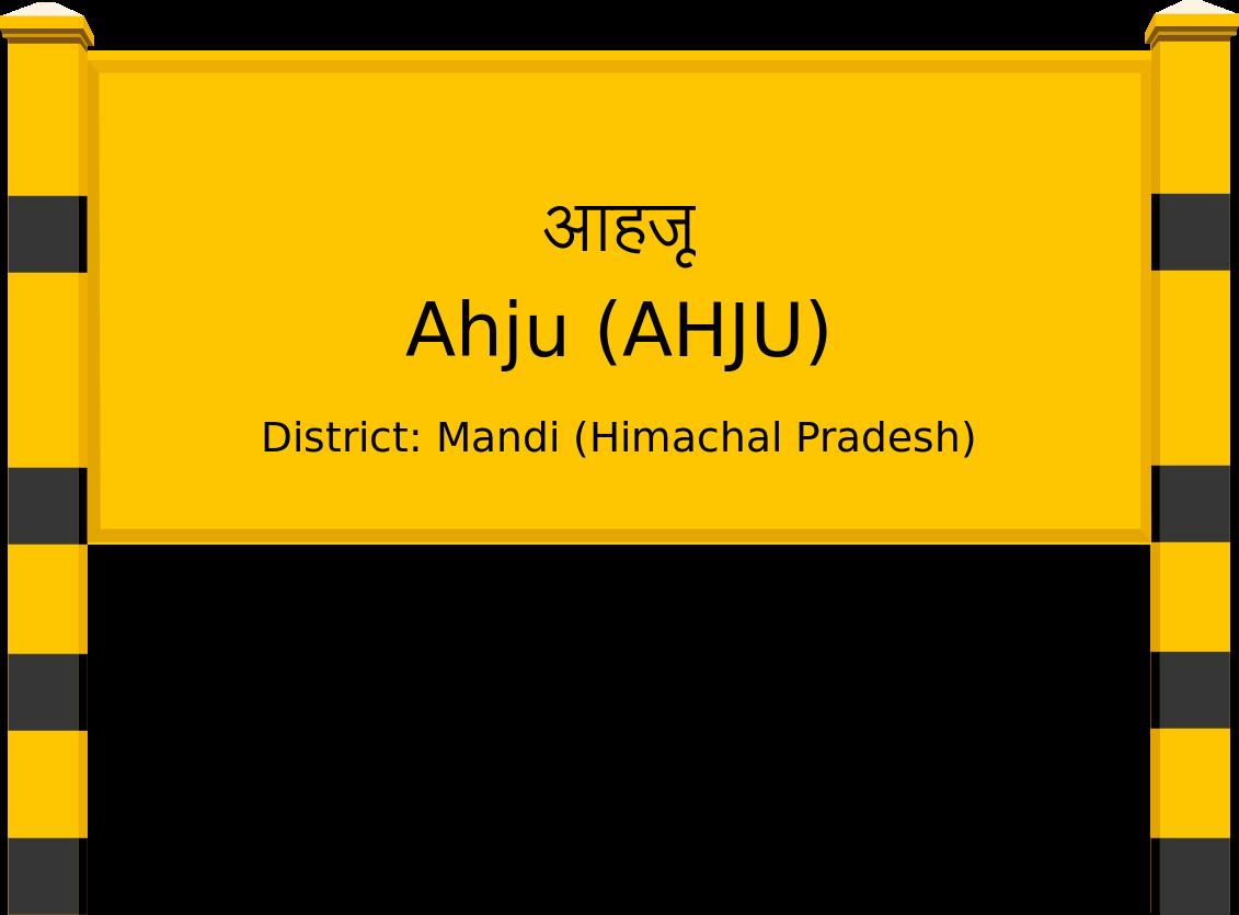 Ahju (AHJU) Railway Station