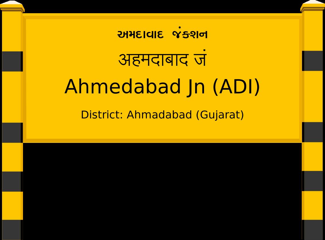 Ahmedabad Jn (ADI) Railway Station
