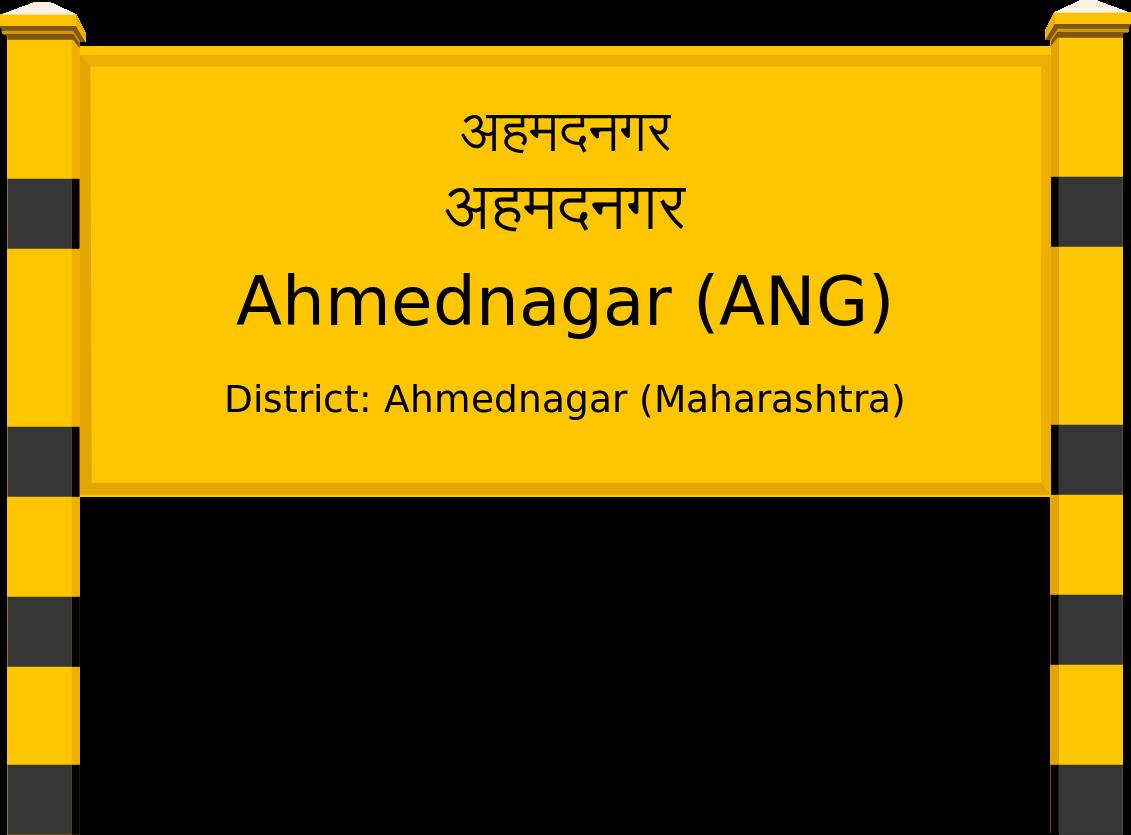 Ahmednagar (ANG) Railway Station