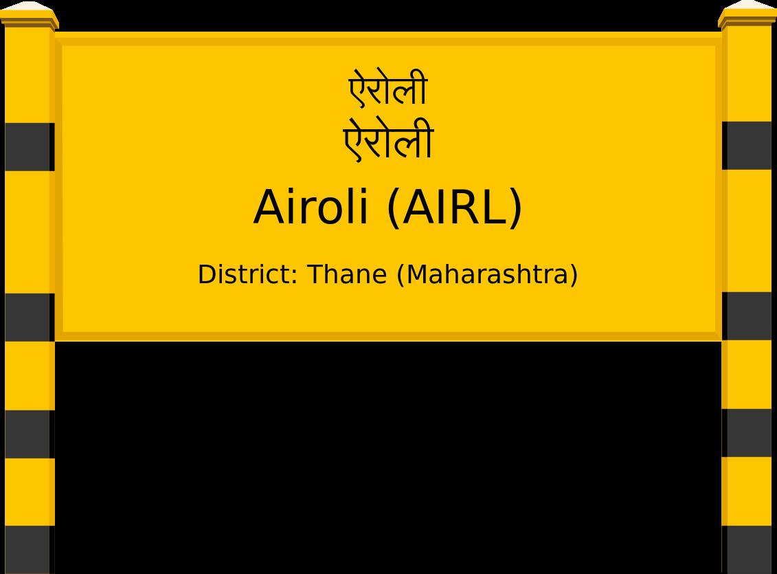 Airoli (AIRL) Railway Station