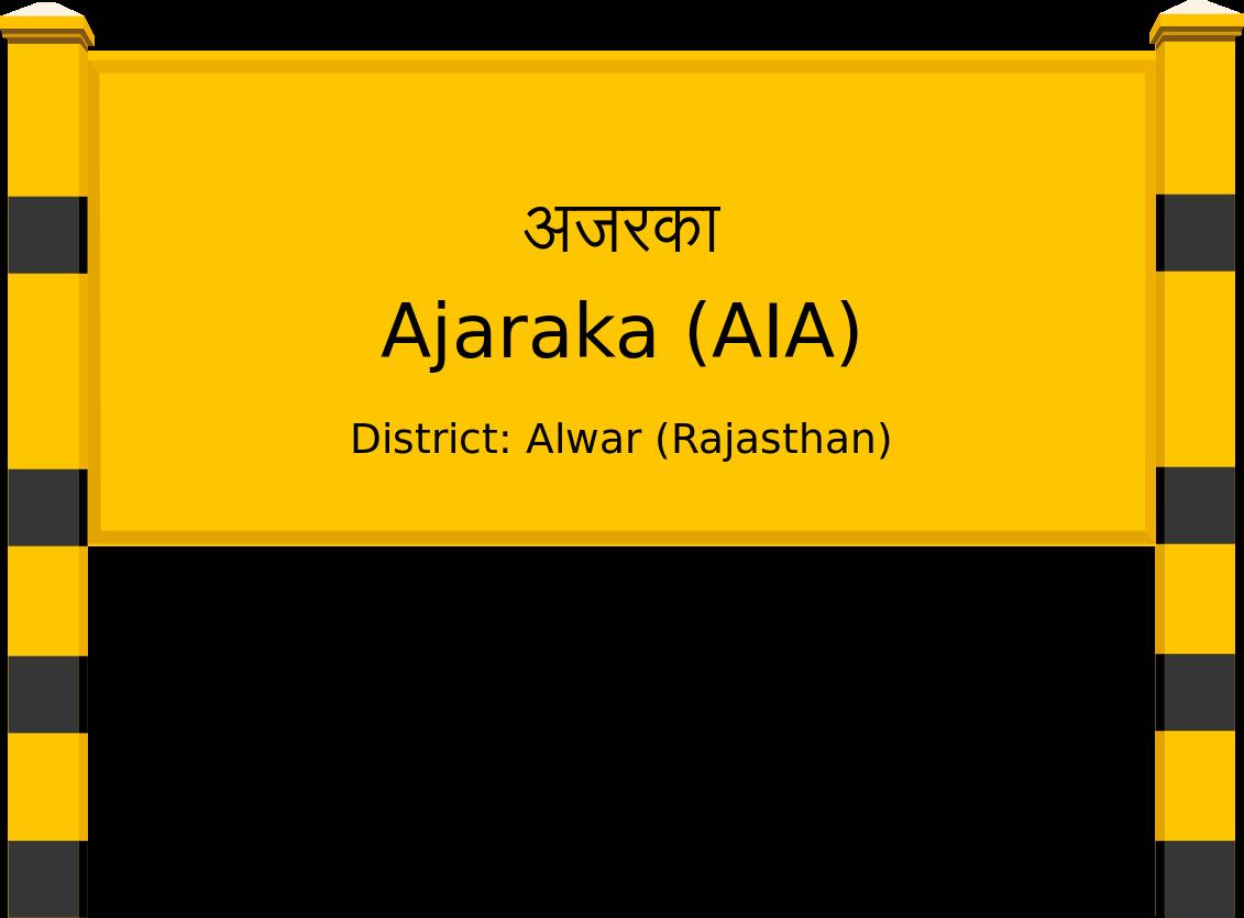 Ajaraka (AIA) Railway Station
