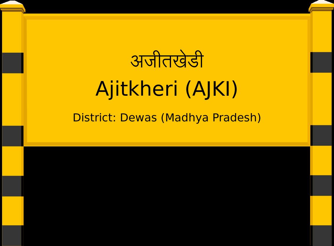 Ajitkheri (AJKI) Railway Station
