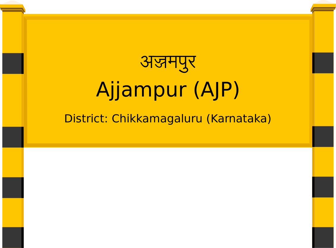 Ajjampur (AJP) Railway Station