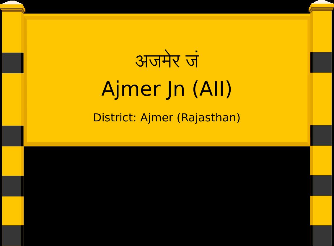 Ajmer Jn (AII) Railway Station