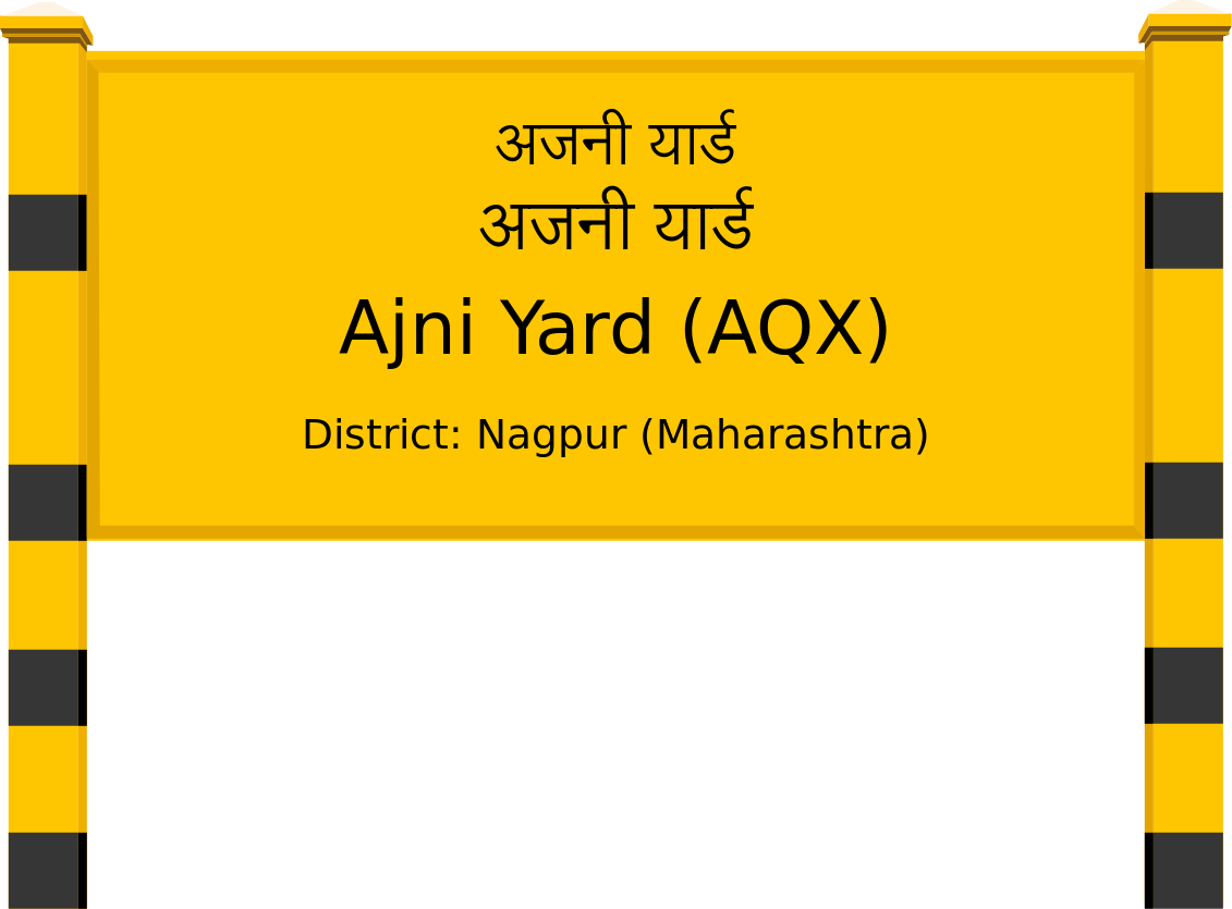 Ajni Yard (AQX) Railway Station