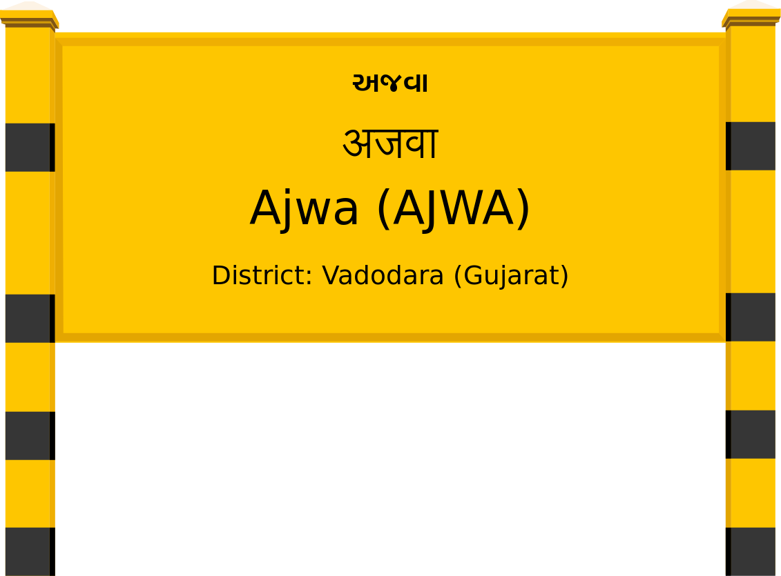 Ajwa (AJWA) Railway Station