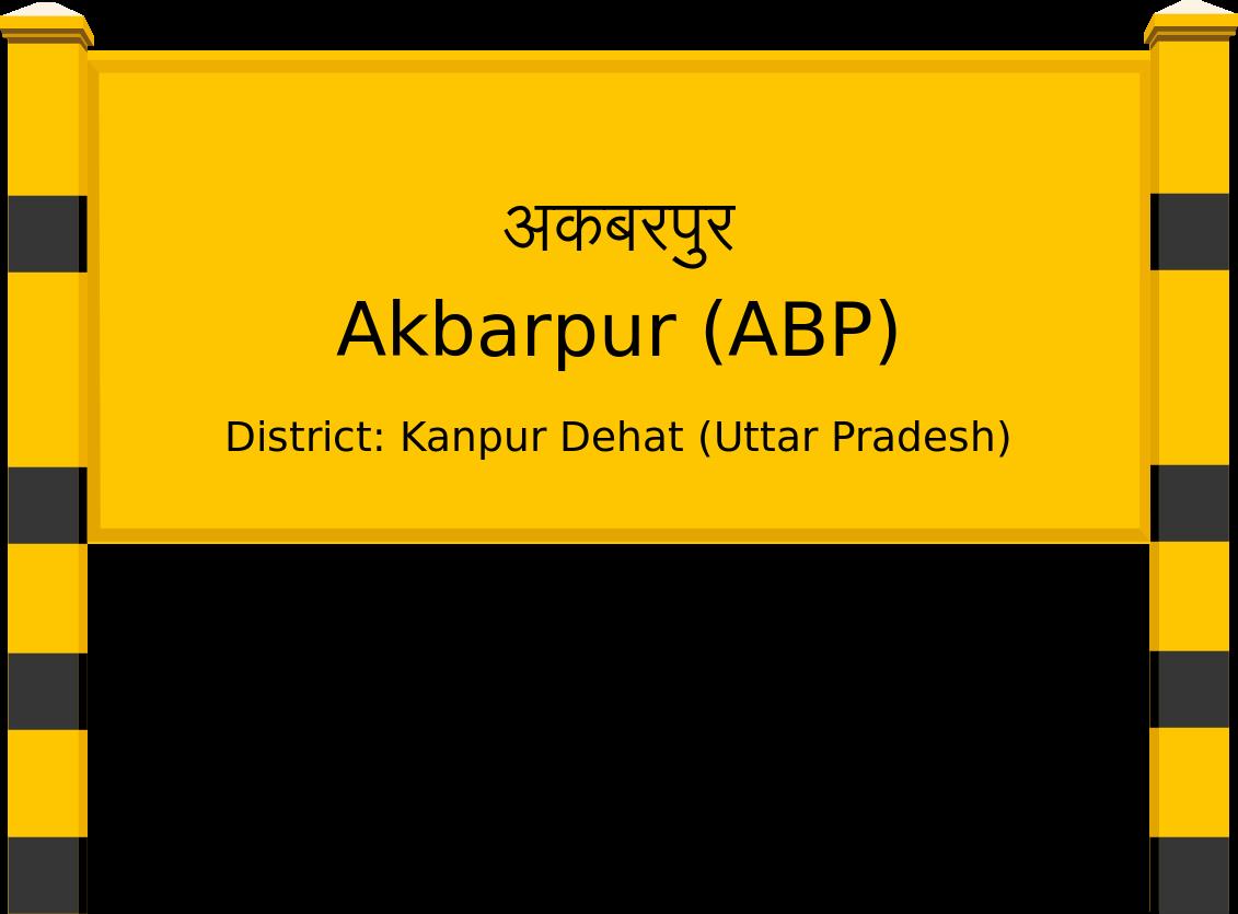 Akbarpur (ABP) Railway Station