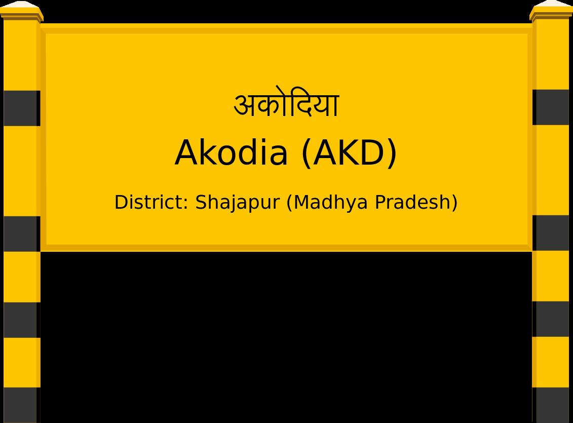 Akodia (AKD) Railway Station