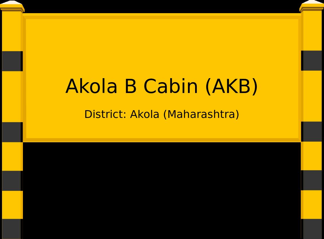 Akola B Cabin (AKB) Railway Station