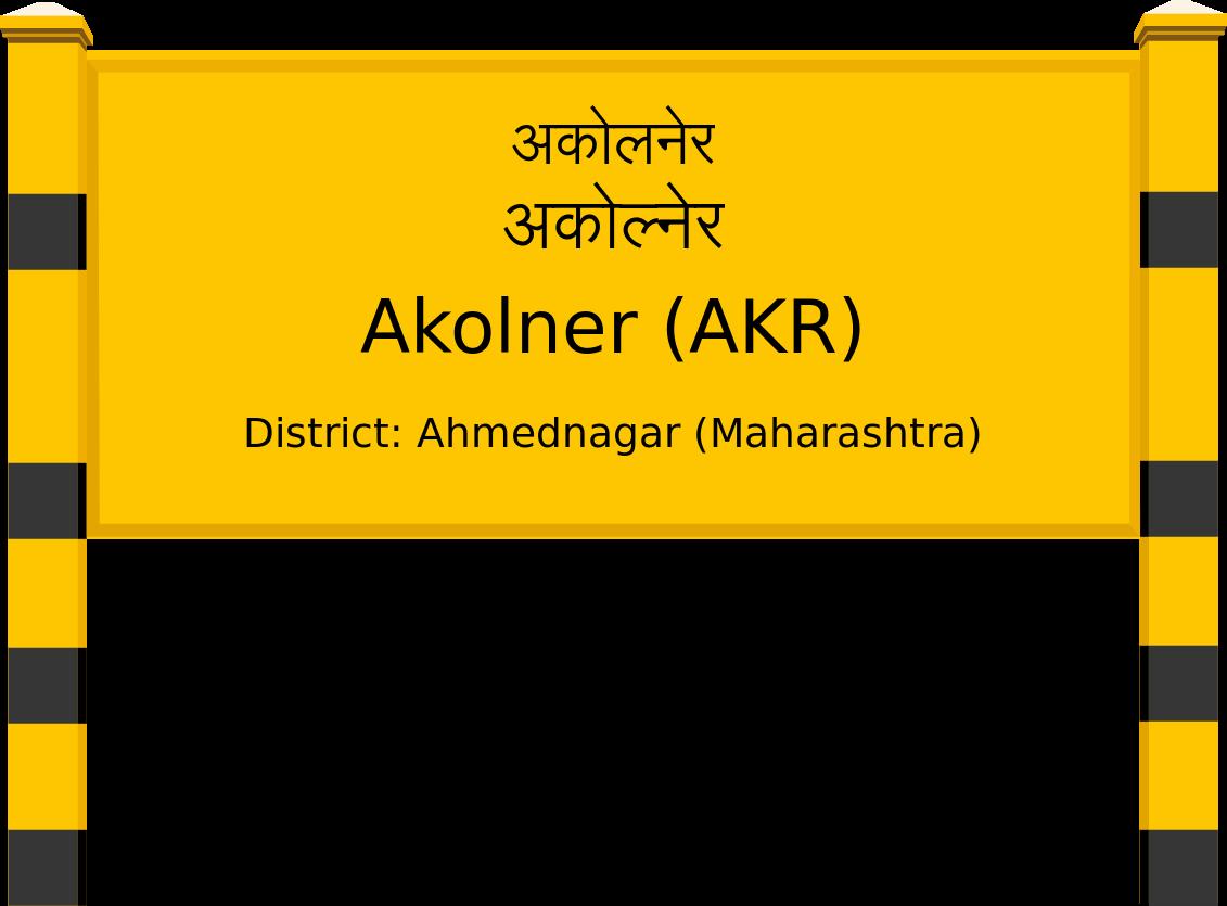 Akolner (AKR) Railway Station