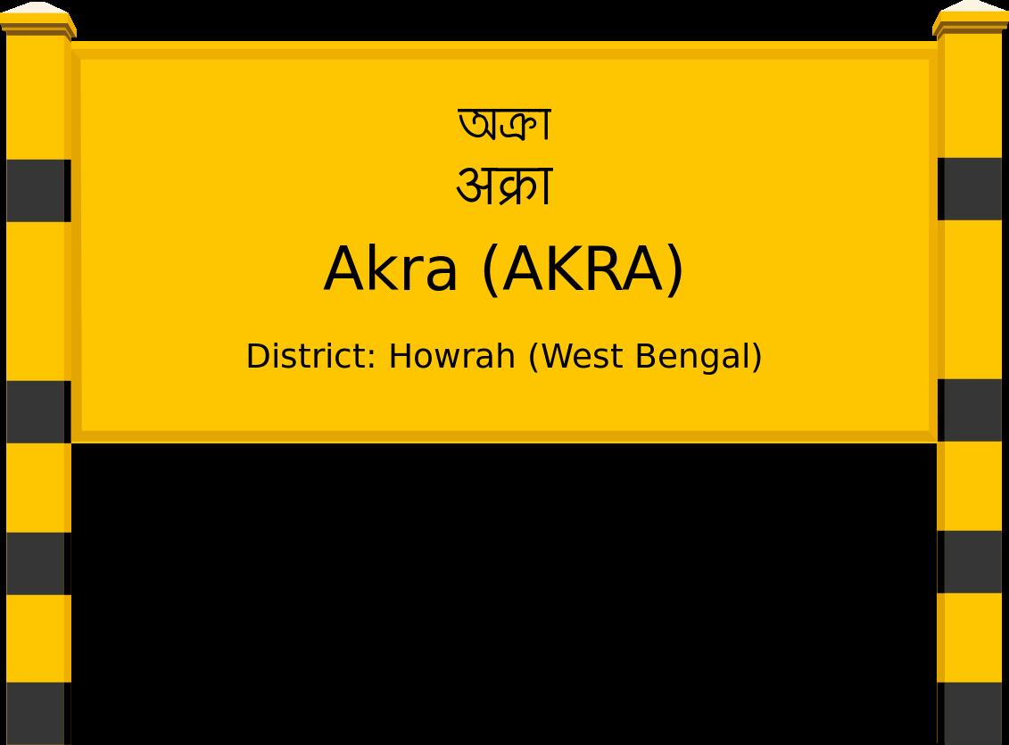 Akra (AKRA) Railway Station