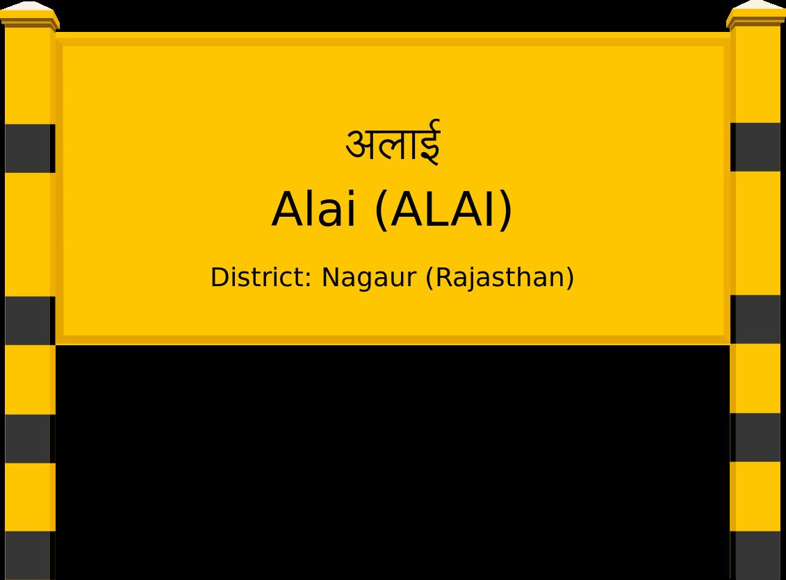 Alai (ALAI) Railway Station