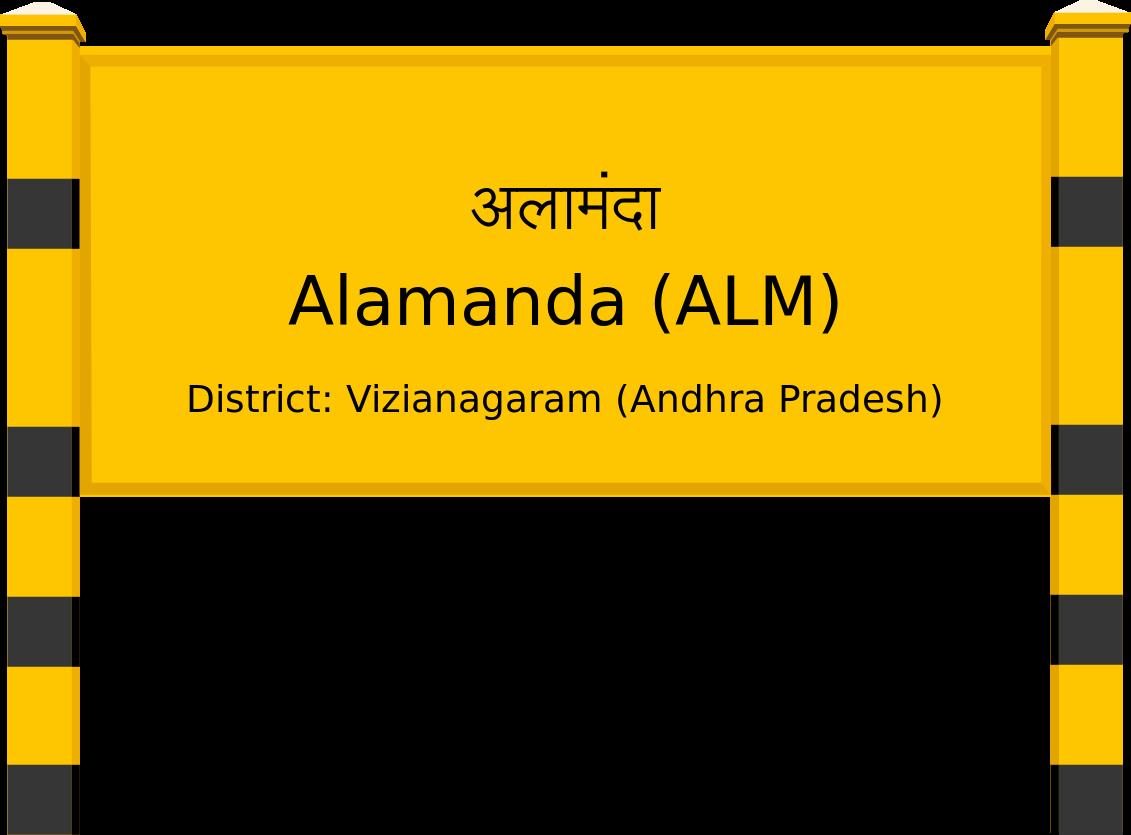 Alamanda (ALM) Railway Station