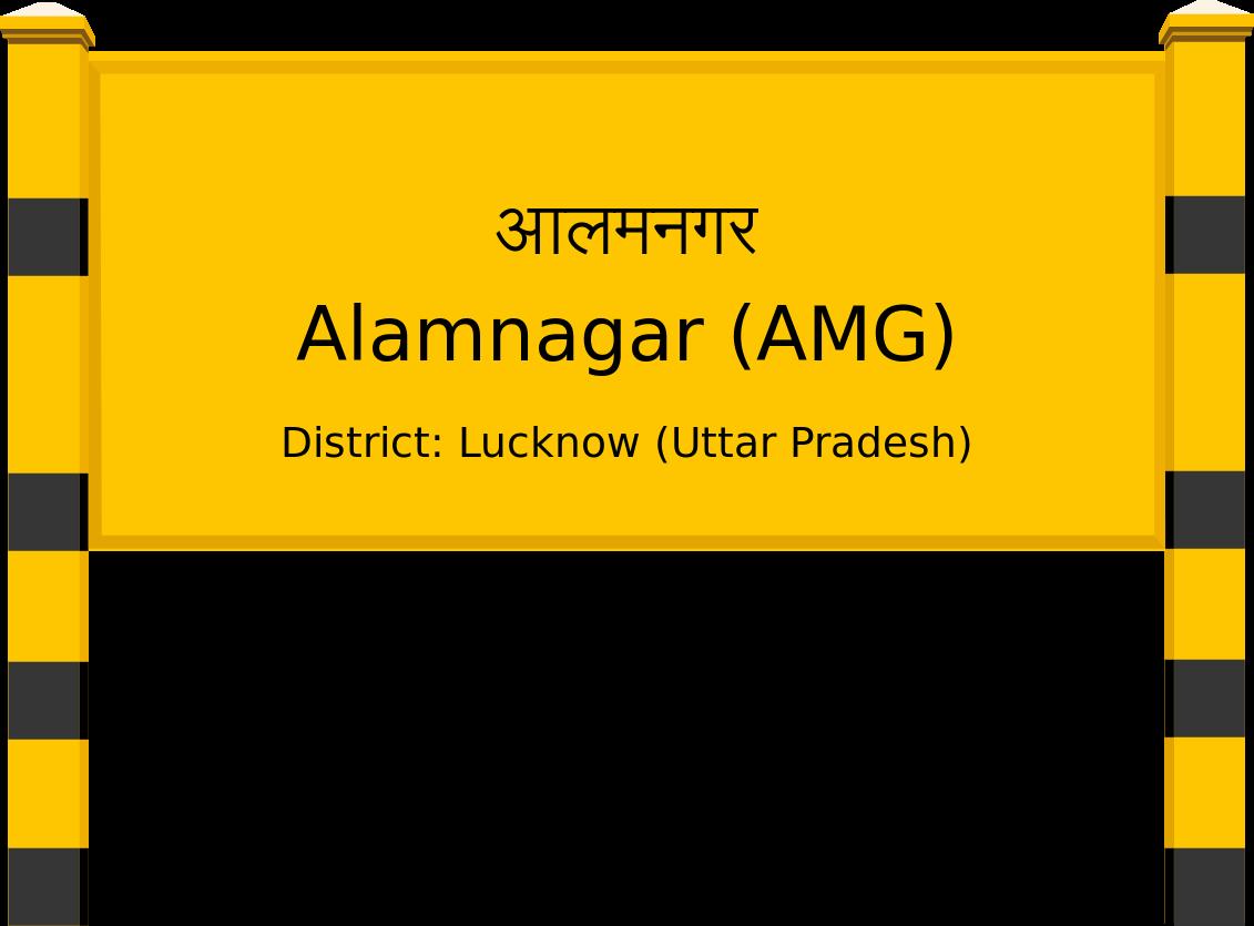 Alamnagar (AMG) Railway Station