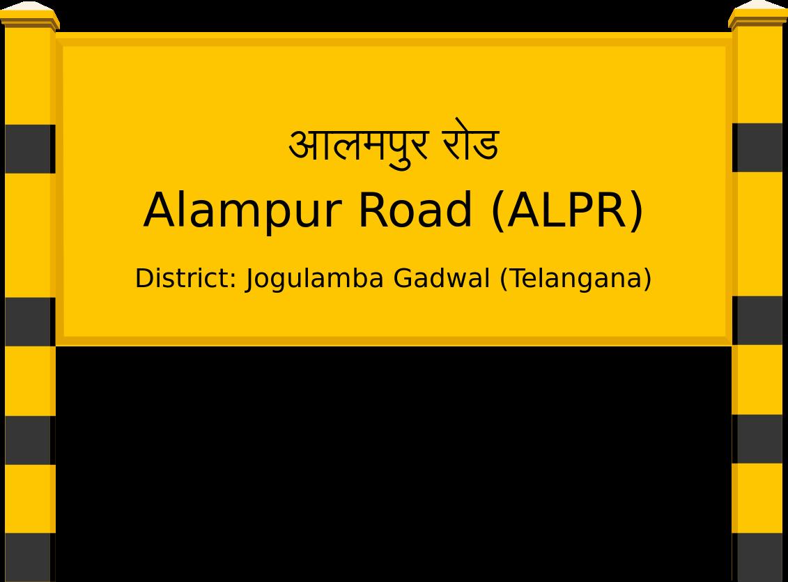 Alampur Road (ALPR) Railway Station