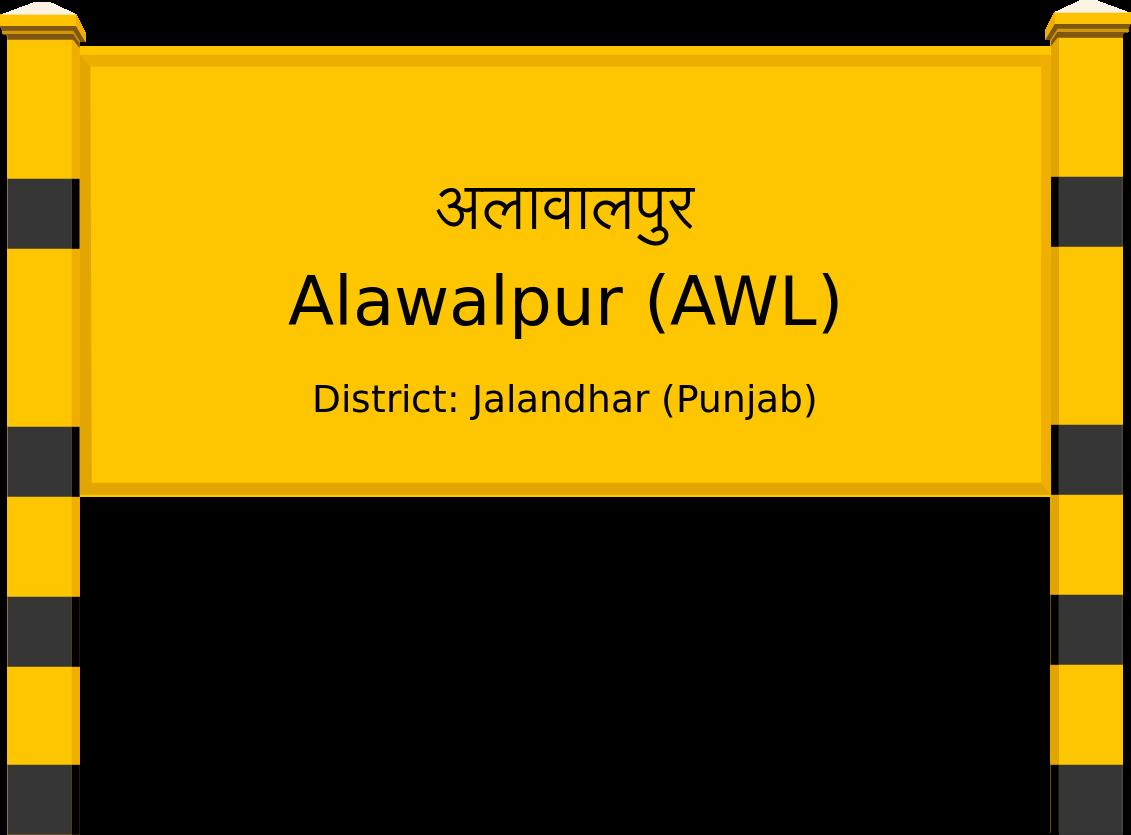 Alawalpur (AWL) Railway Station