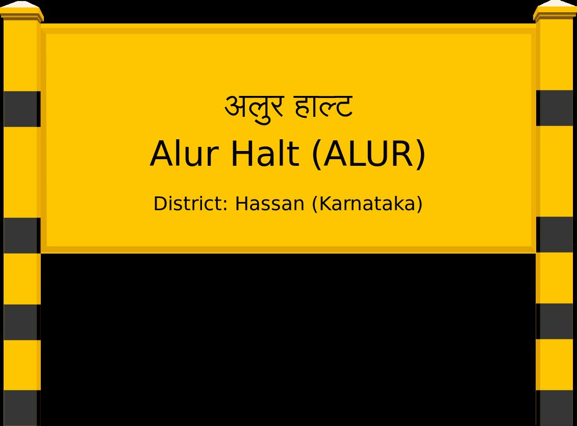 Alur Halt (ALUR) Railway Station