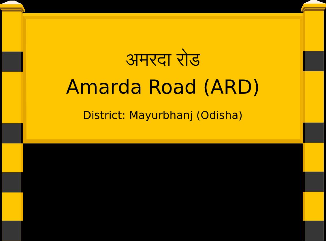 Amarda Road (ARD) Railway Station