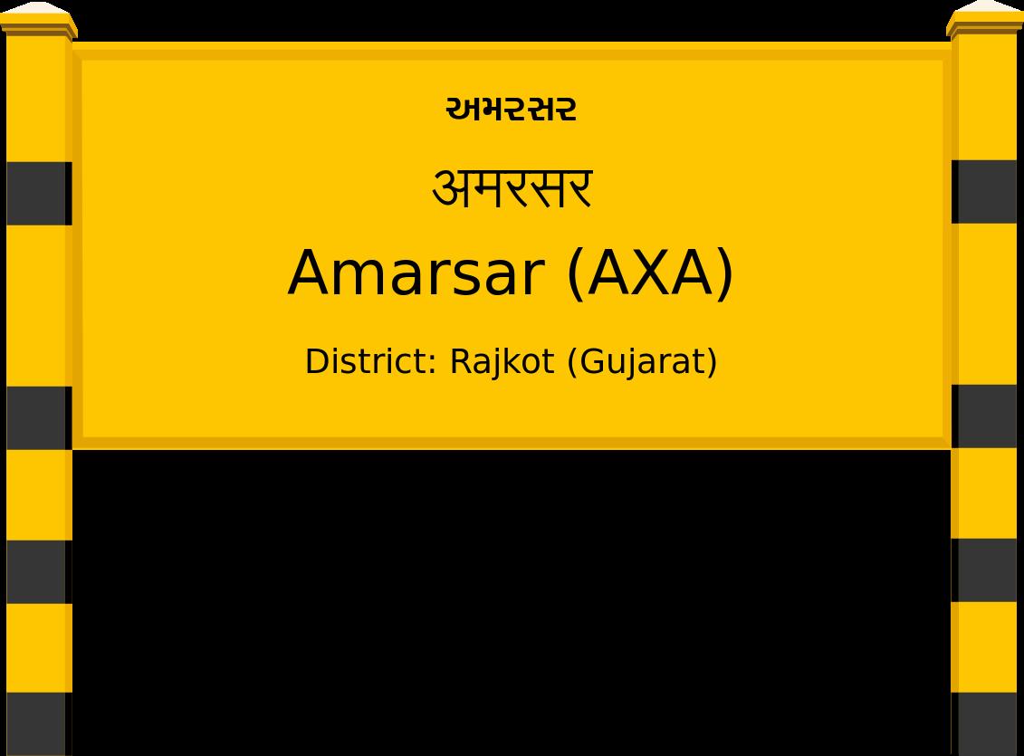 Amarsar (AXA) Railway Station