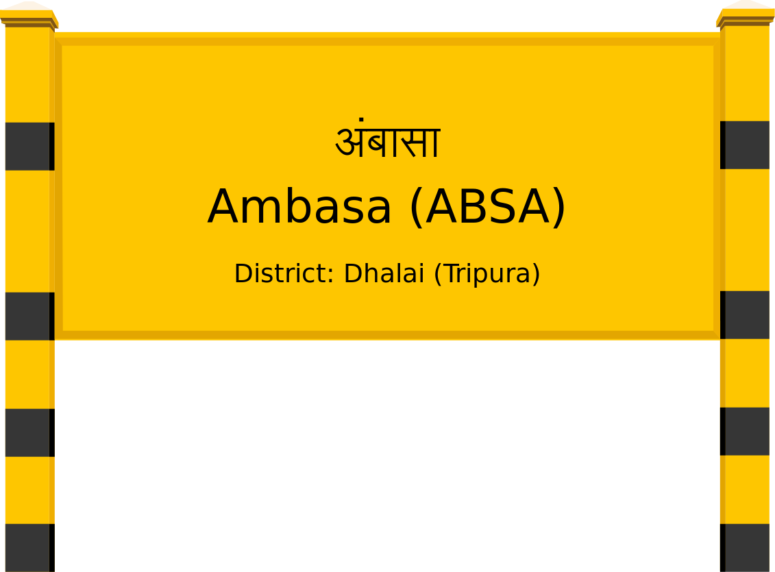 Ambasa (ABSA) Railway Station