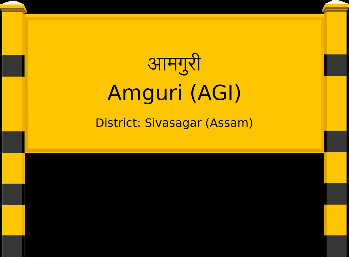 Amguri (AGI) Railway Station