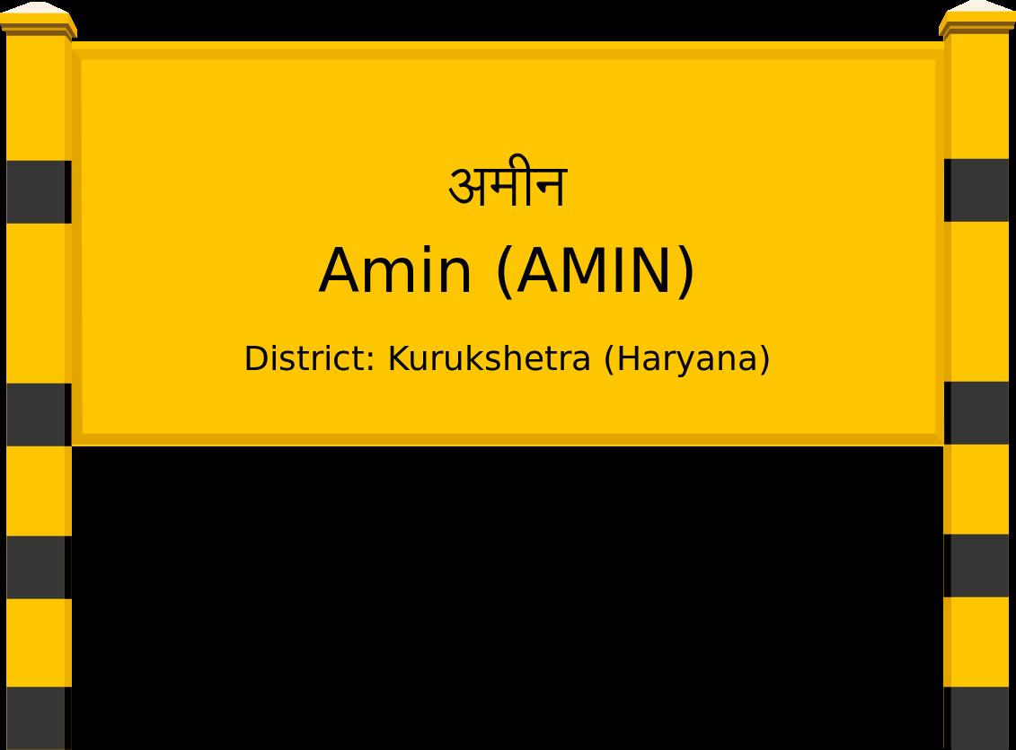 Amin (AMIN) Railway Station