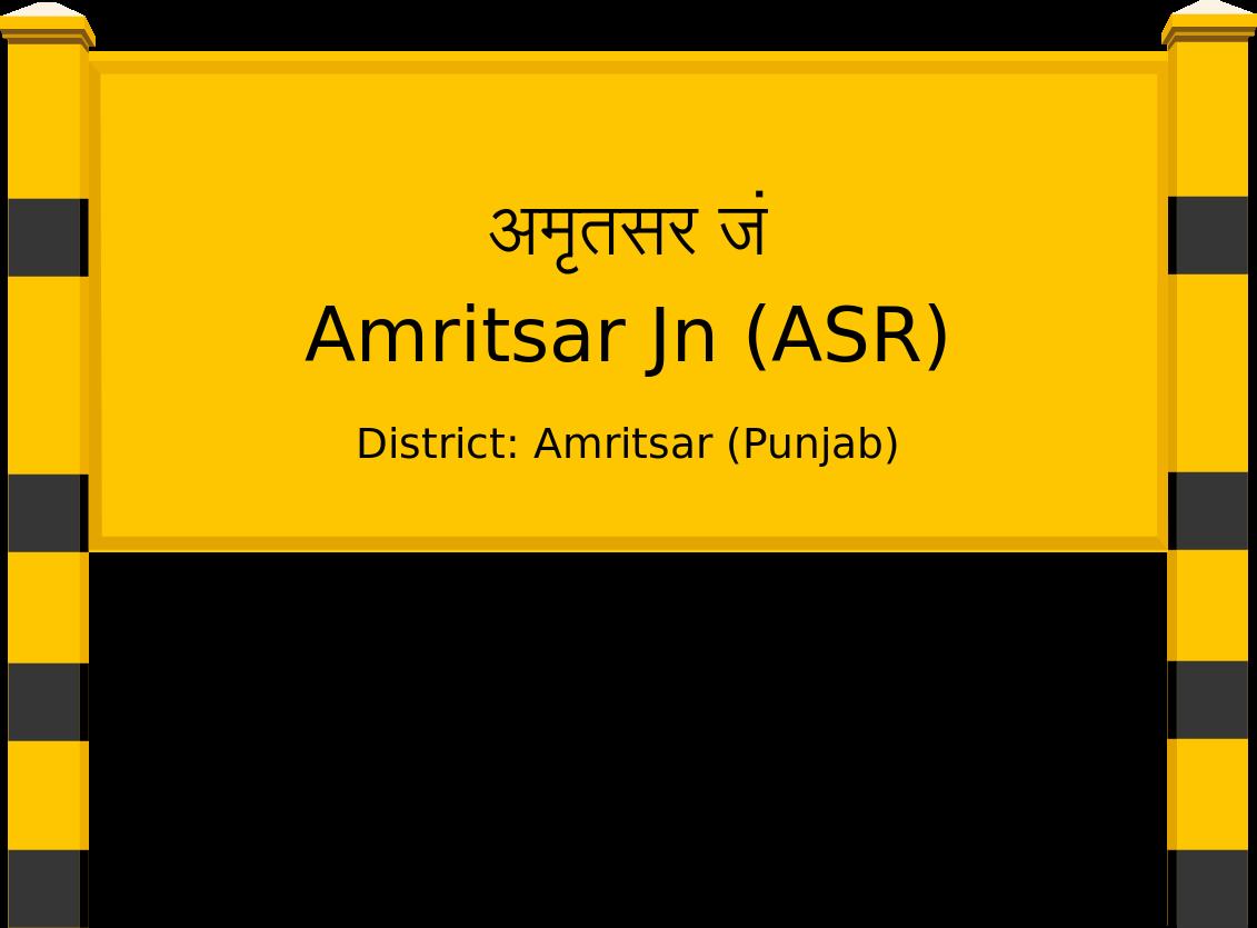 Amritsar Jn (ASR) Railway Station