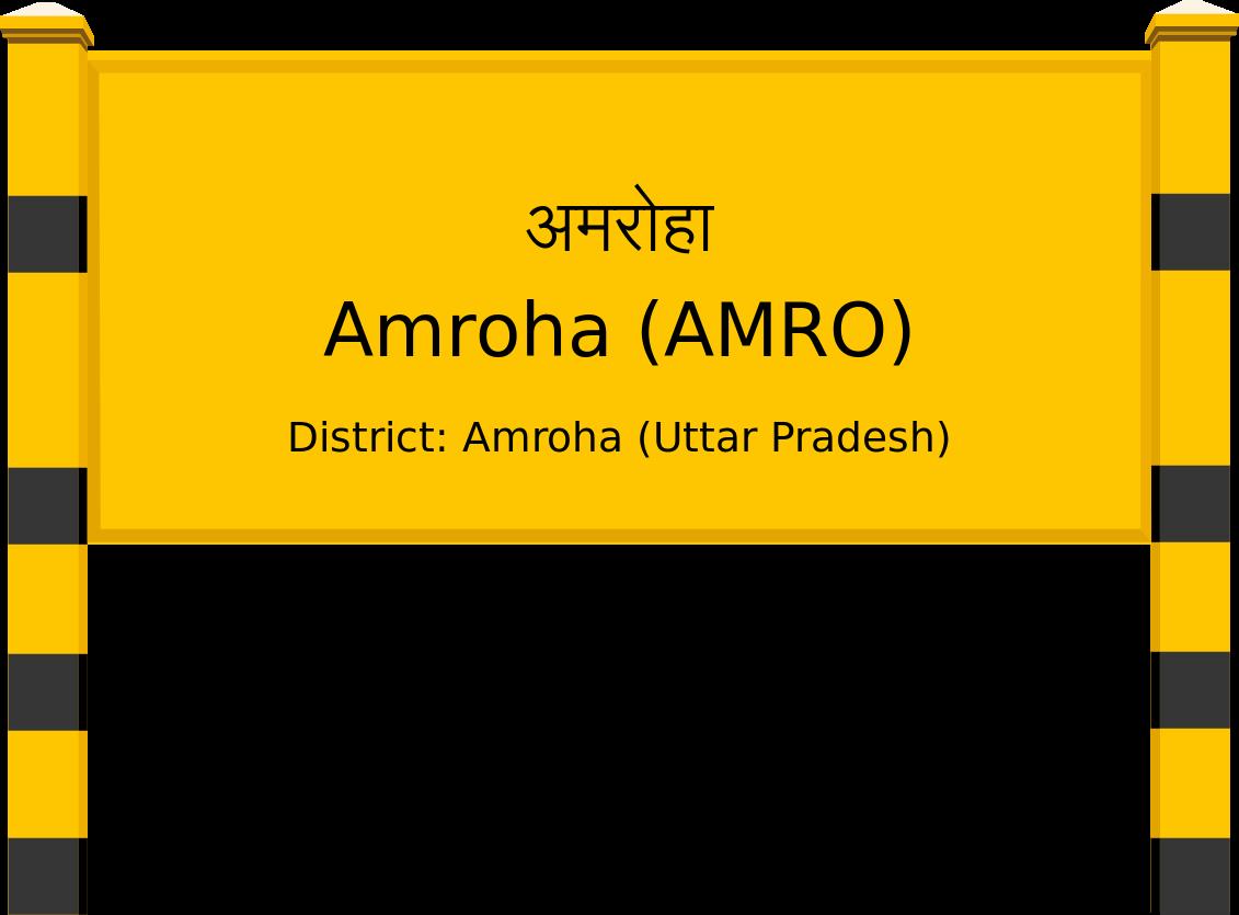 Amroha (AMRO) Railway Station