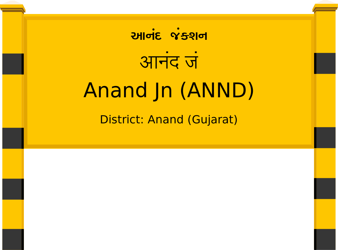 Anand Jn (ANND) Railway Station