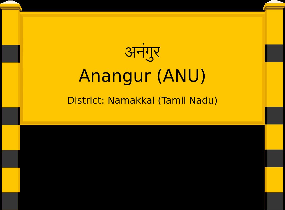 Anangur (ANU) Railway Station