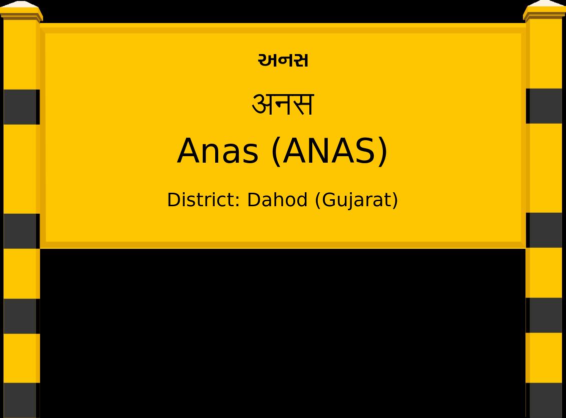 Anas (ANAS) Railway Station