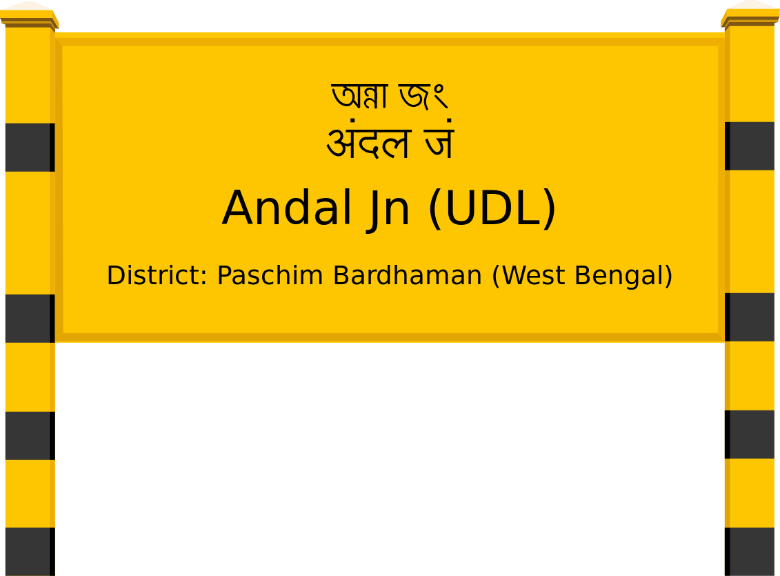 Andal Jn (UDL) Railway Station