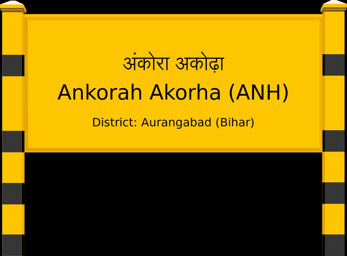 Ankorah Akorha (ANH) Railway Station