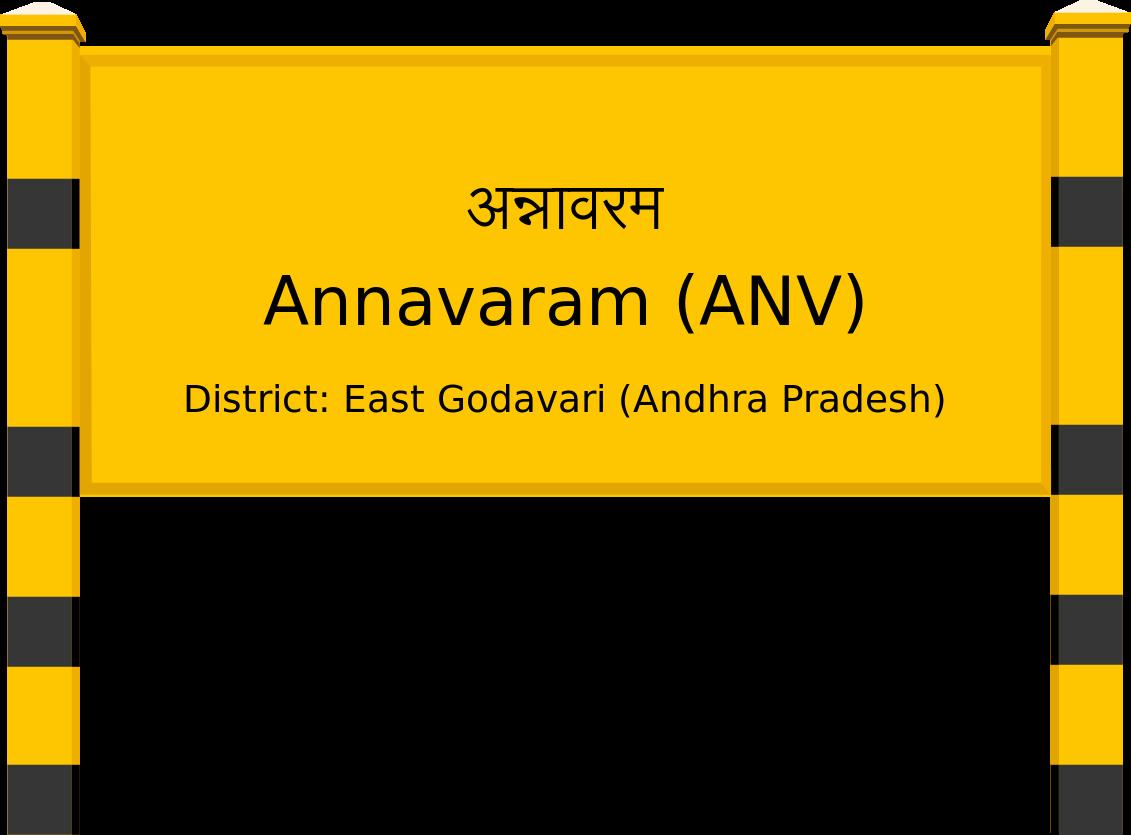 Annavaram (ANV) Railway Station
