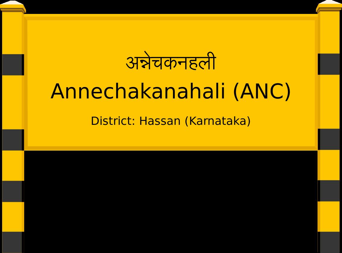 Annechakanahali (ANC) Railway Station