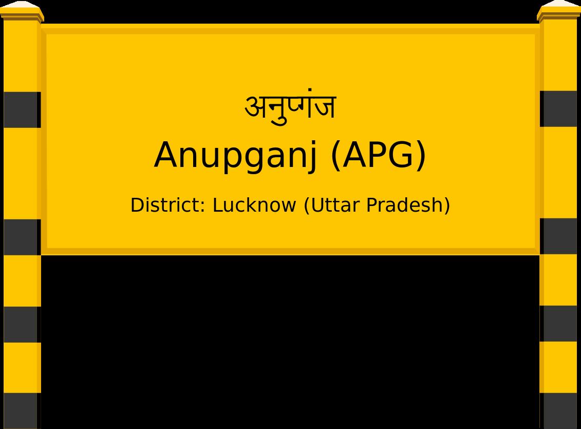 Anupganj (APG) Railway Station
