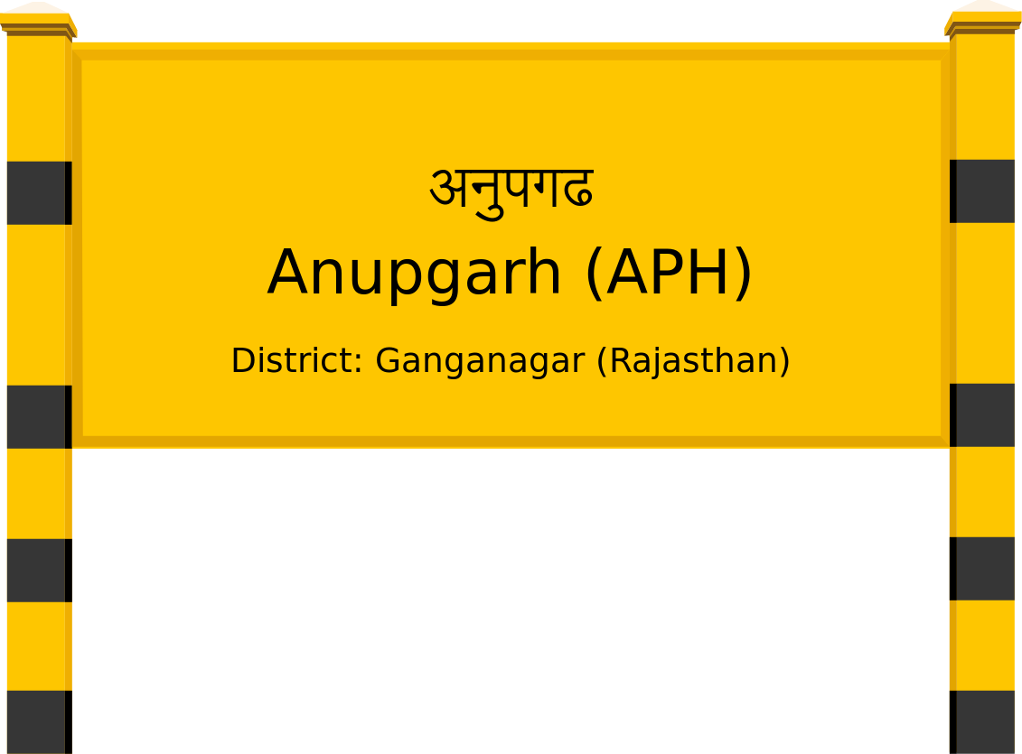 Anupgarh (APH) Railway Station