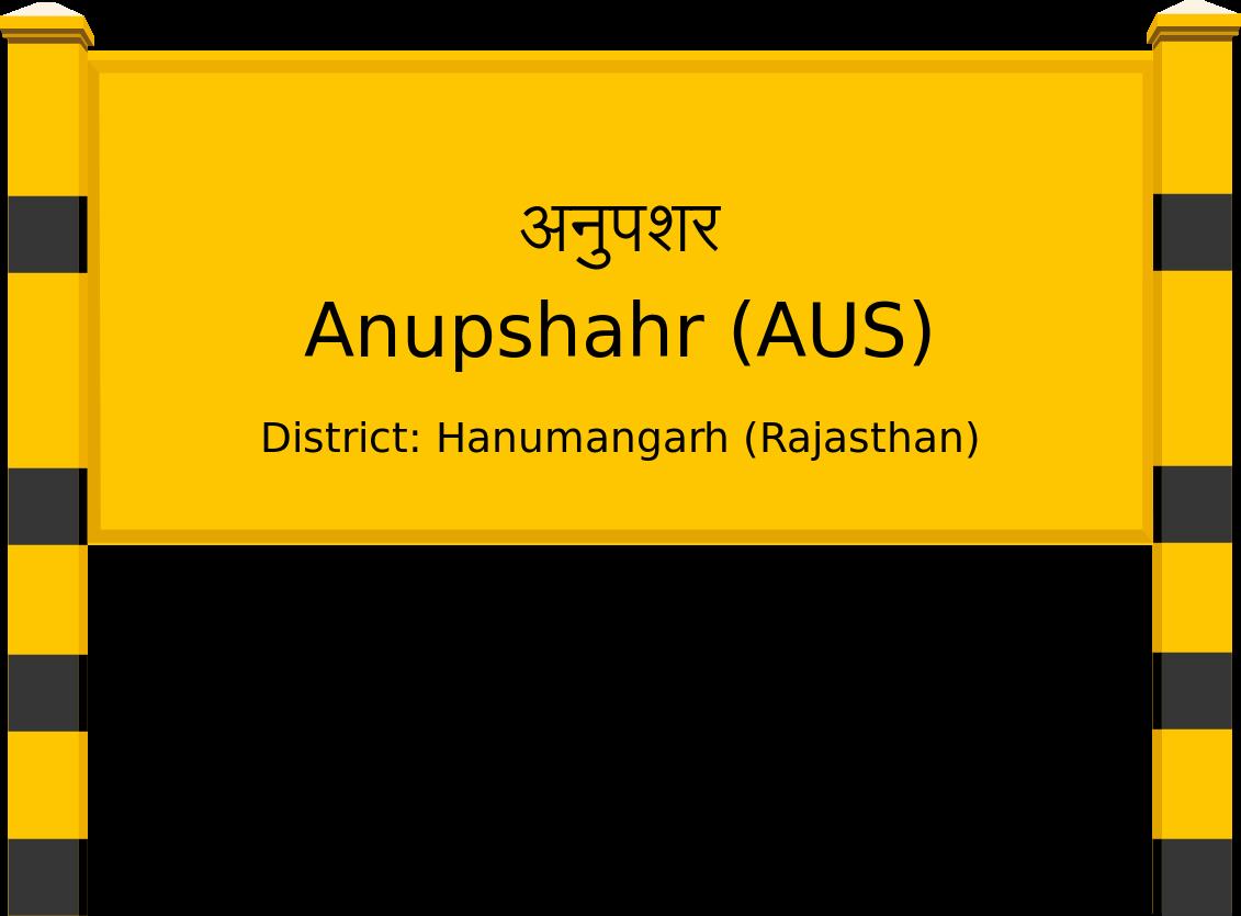 Anupshahr (AUS) Railway Station