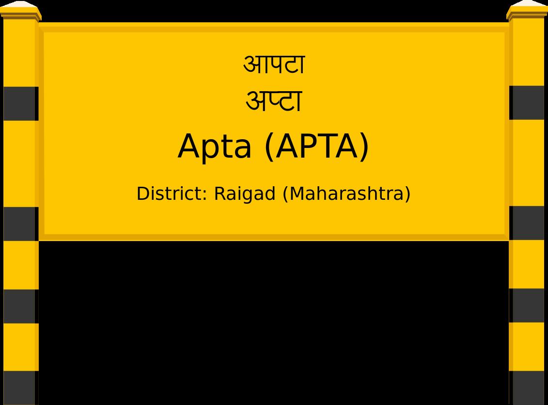 Apta (APTA) Railway Station