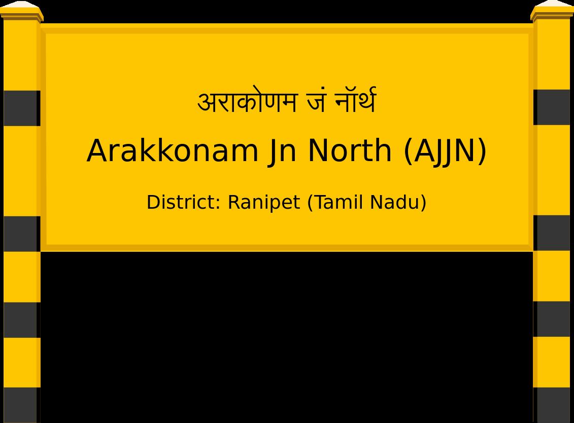 Arakkonam Jn North (AJJN) Railway Station