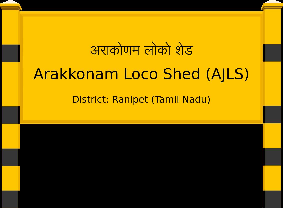 Arakkonam Loco Shed (AJLS) Railway Station