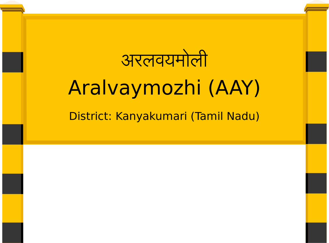 Aralvaymozhi (AAY) Railway Station